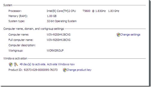 windows server 2008 r2 standard product key activation
