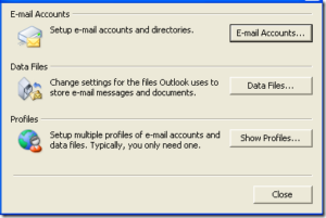 Make Outlook 2007 Prompt You For Username And Password