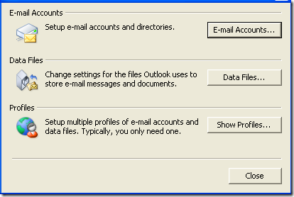 Outlook Mail Setup