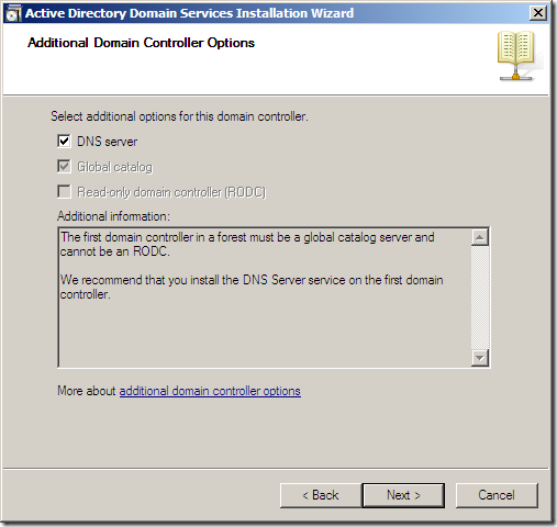 Installing DNS Server