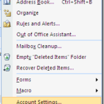 How to add a RSS feed in Outlook 2007