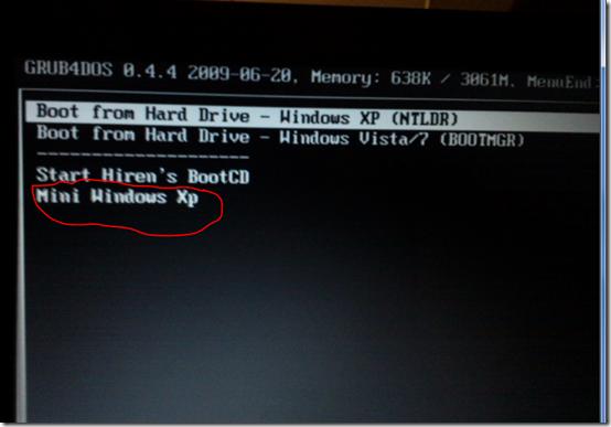 hiren password changer windows 7