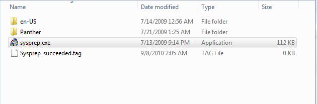 How To SysPrep Windows 7