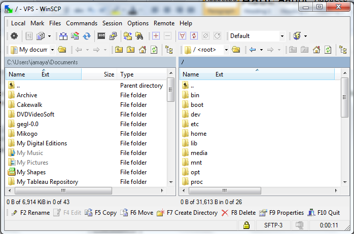 winscp vs filezilla