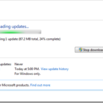 Why Windows 7 SP1 Takes So Long To Download?