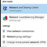 Connect to a VPN connection in Windows 10