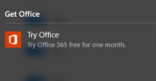 office 365 notification