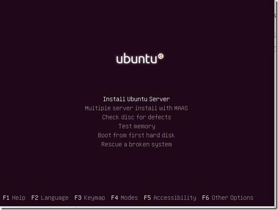 Ubuntu 16.04 Install server