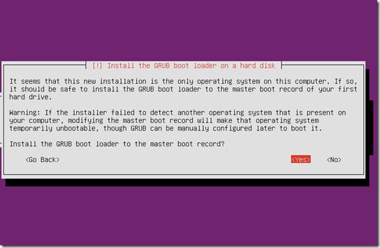 install grub boot
