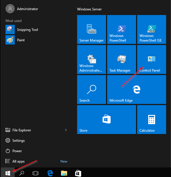 server 2016 set network as private