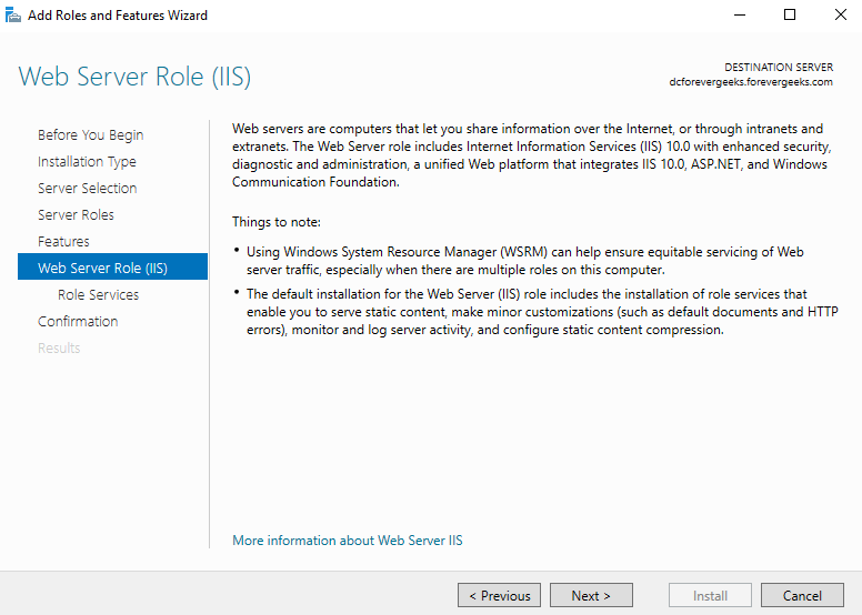 Install ownCloud in a Windows Server
