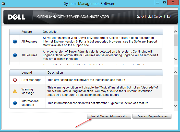 Check Dell OpenManage with Nagios