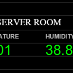Monitor server room temperature with Nagios