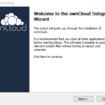 Installing the ownCloud Client in Windows 10