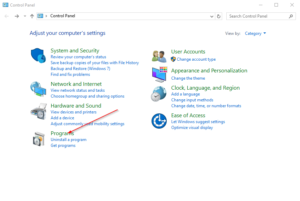How to disable the Hyper-v feature in Windows 10
