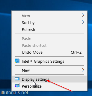 how to change the font size in windows 10