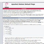 How to install Debian as a Web Server