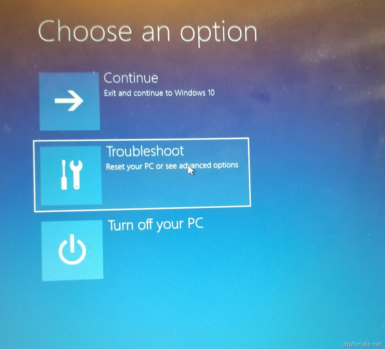 How to factory reset Windows 10 without knowing the account password