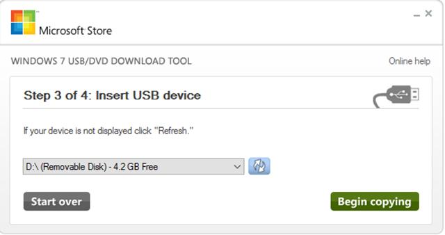 Insert USB Drive
