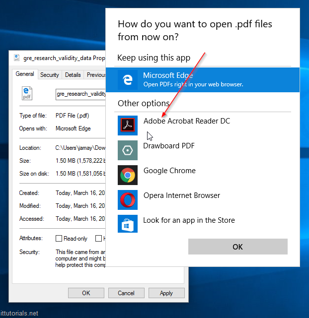 adobe reader choice