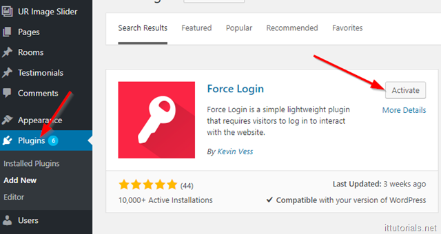 force login