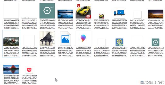 decompressed background images