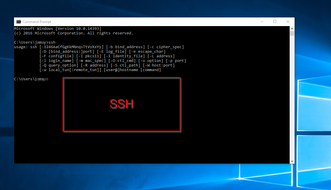 How To Enable Ssh On Windows 10 Command Prompt